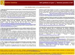Boletín periódico de la Fundación Sustrai Erakuntza