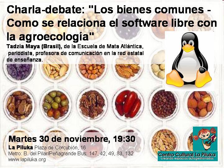 Software Libre y Ecología