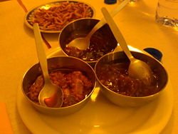 Chutneis de Goa - India
