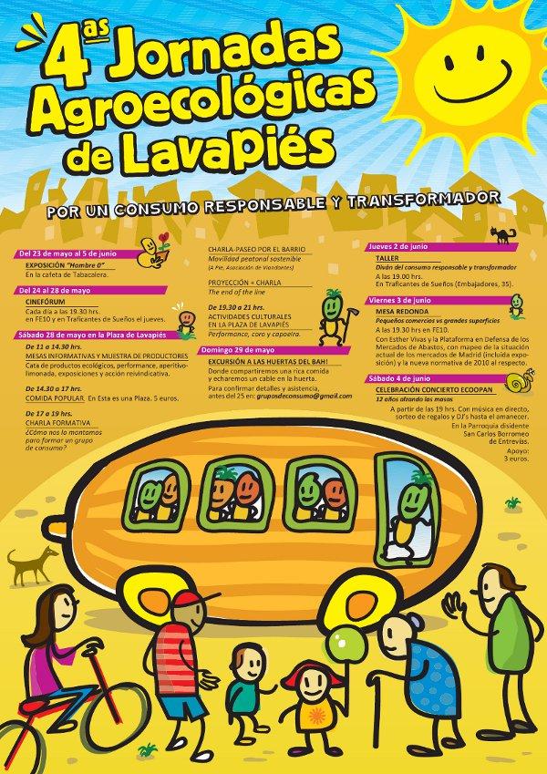 IV Jornadas Agroecológicas de Lavapiés